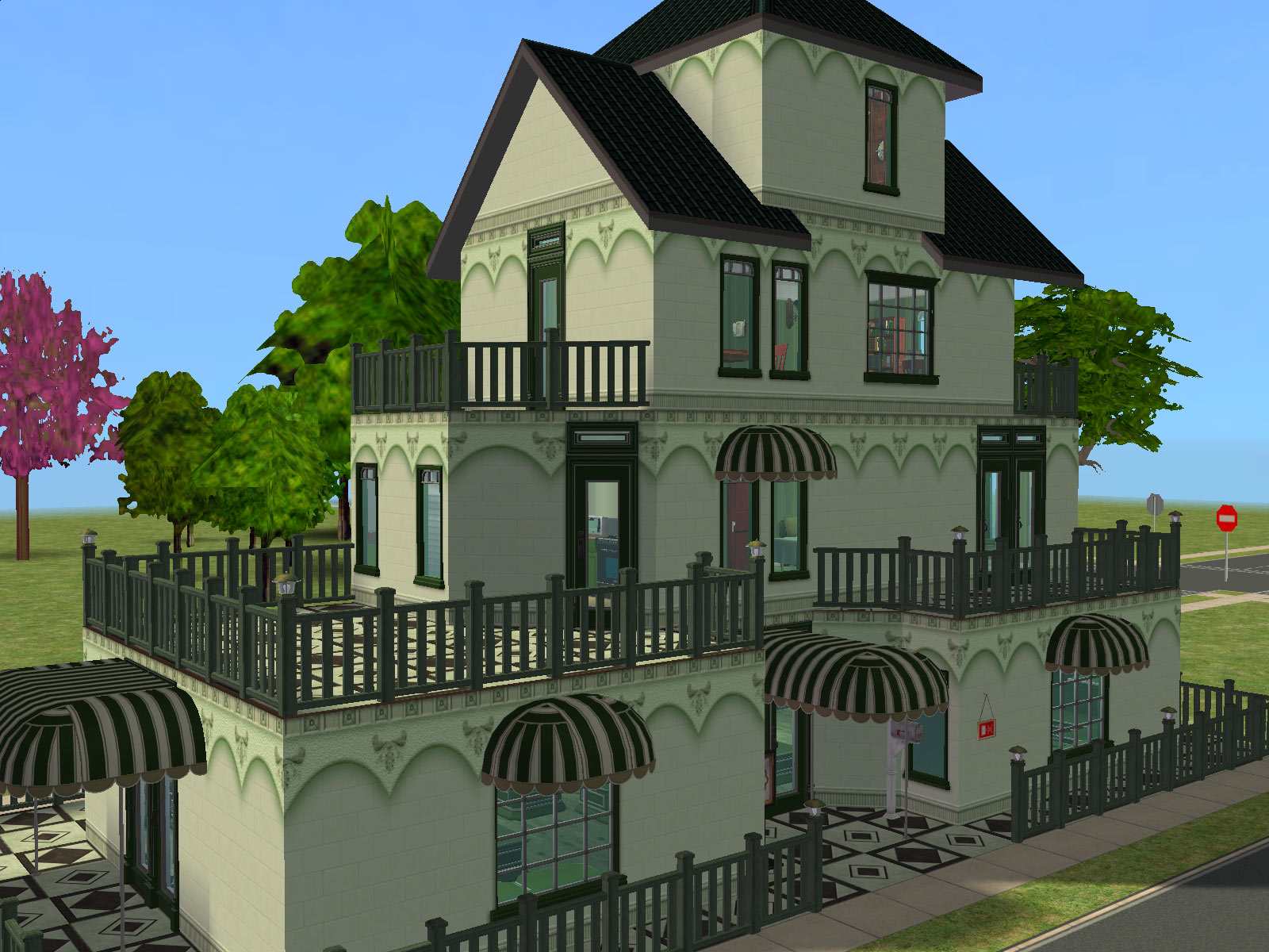 Parsimonious the sims 2 houses for Sims 2 mansiones y jardines