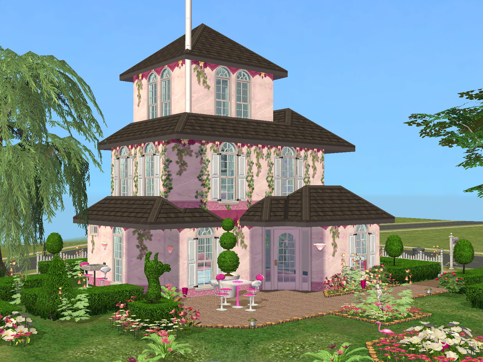 Дома в симс 2 схемы фото