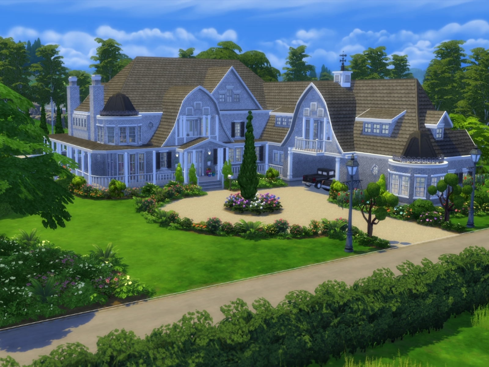 sims 4 how to get houses