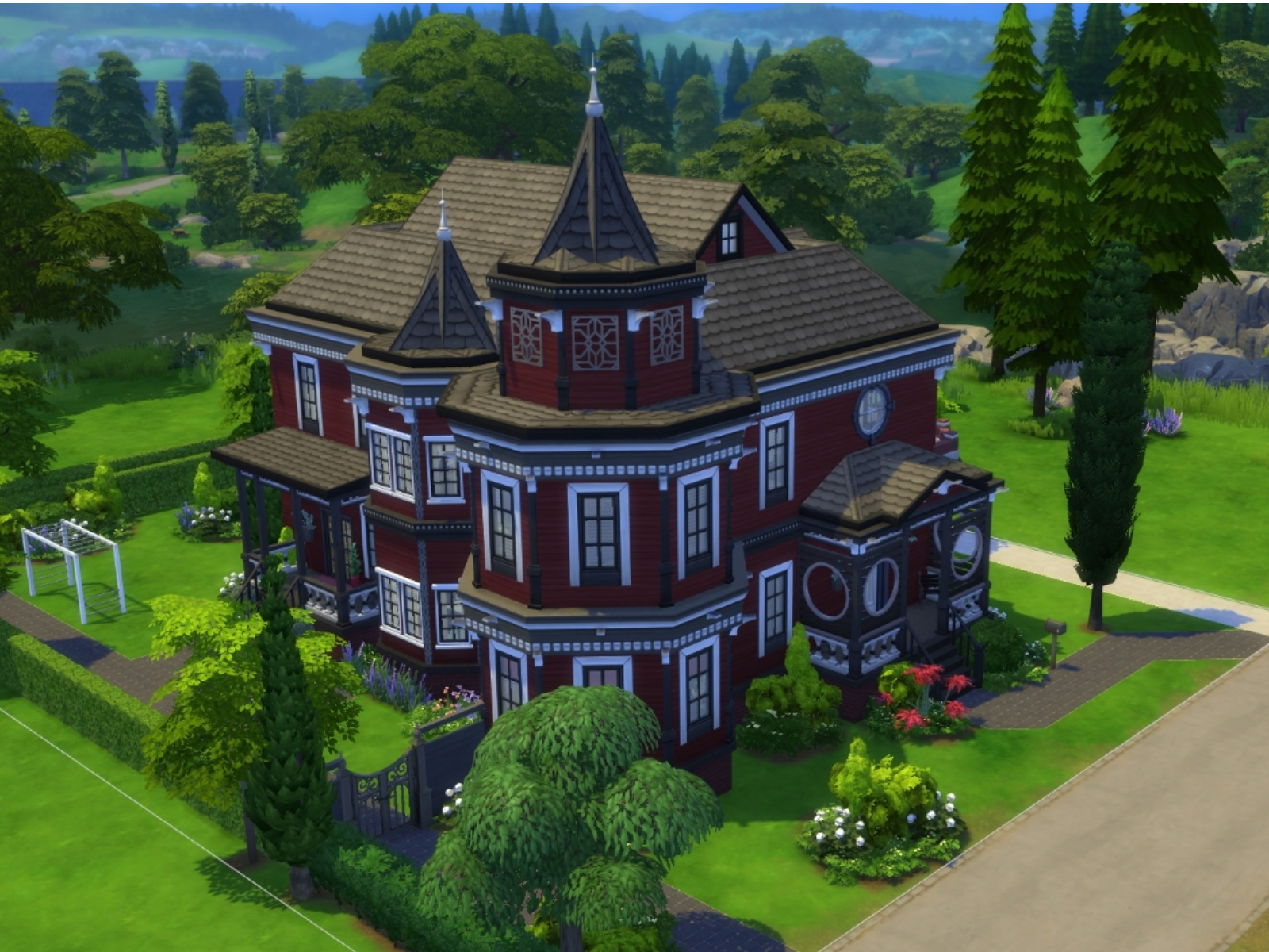 Parsimonious the sims 4 for Custom built victorian homes
